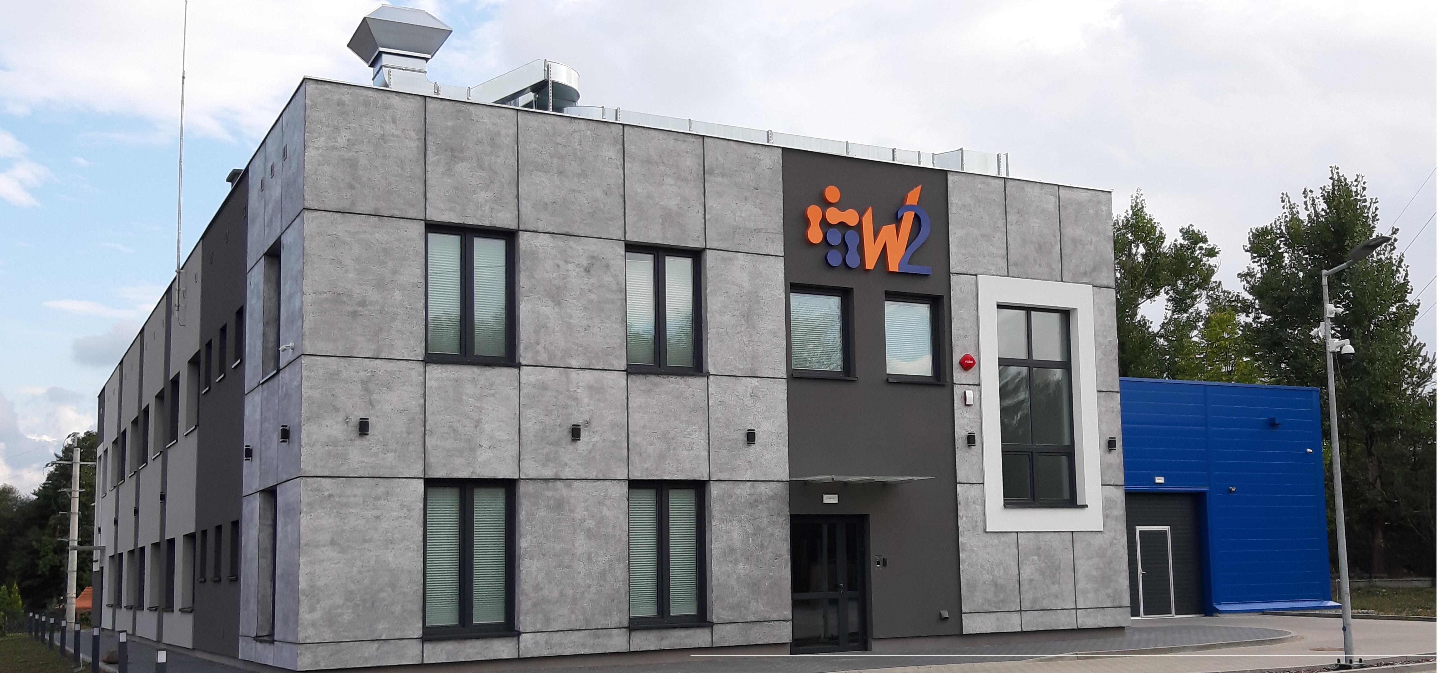 W2 head office in Kruszyn Krajeński, Poland